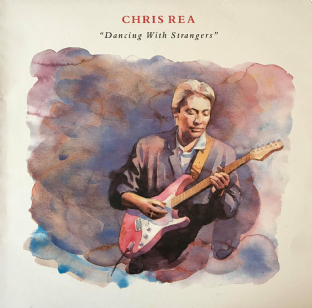 Chris Rea - Dancing With Strangers (LP) (VG-/VG)